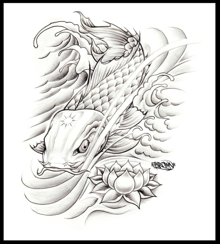 koi illustration