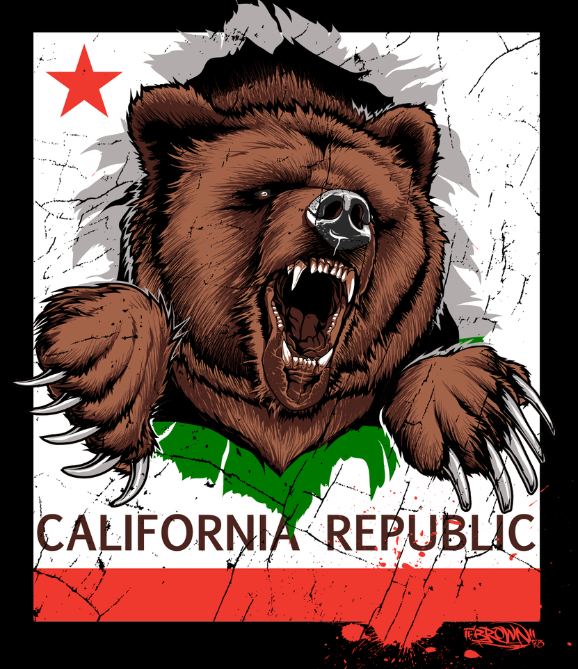 CALI BEAR By BROWN73