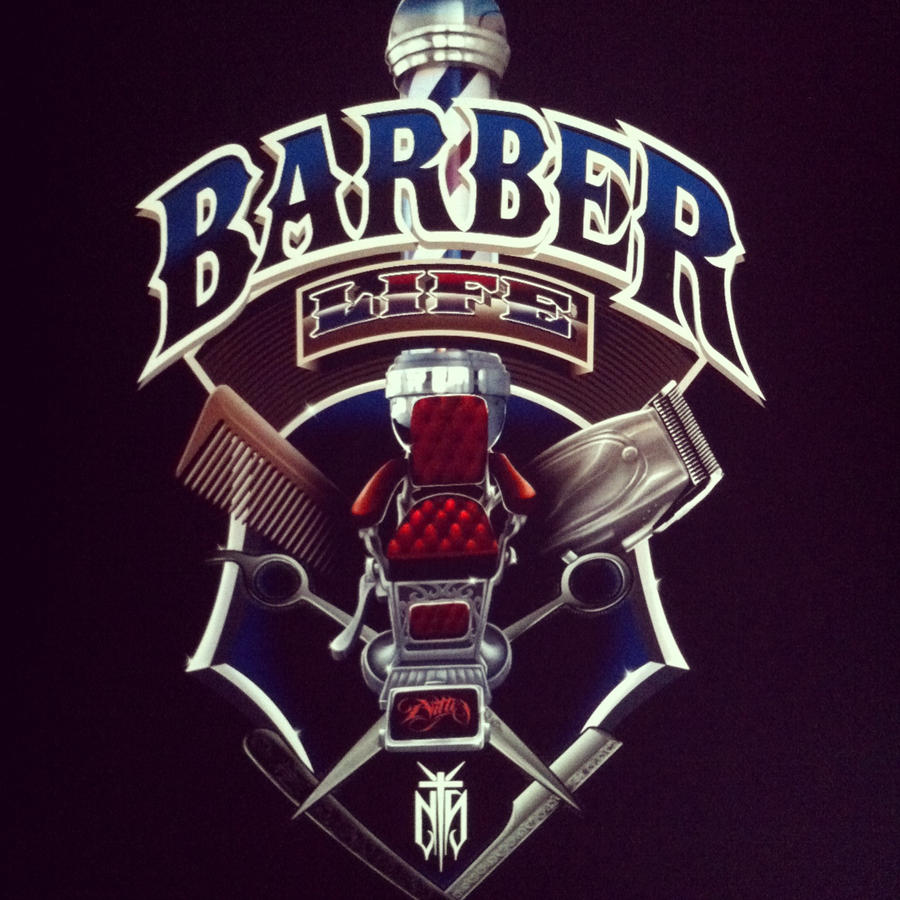 barber logo design - photo #15