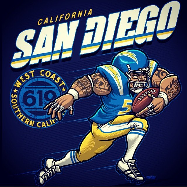 San Diego Football by BROWN73