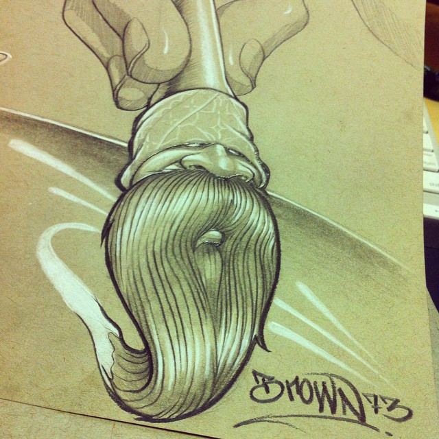 BROCHA LOCO ART BROWN73 BRUSH by BROWN73