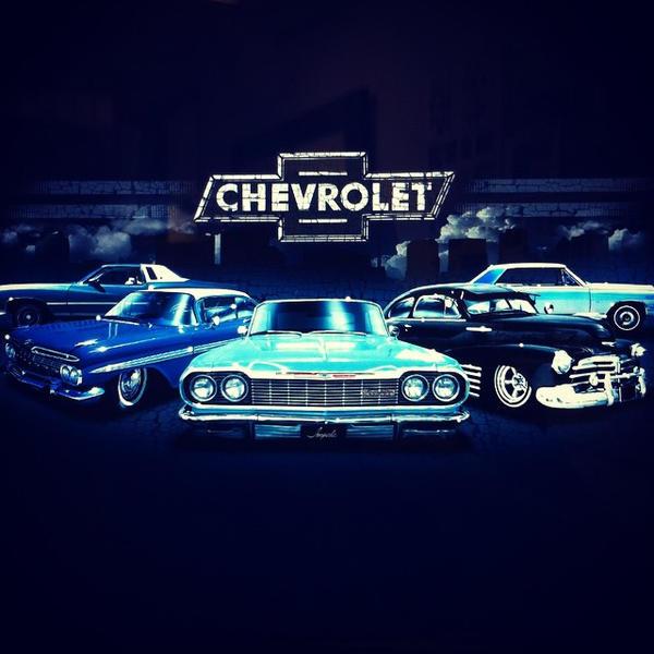 CHEVROLET CARS DESIGN TEE BROWN73 LICENSED by BROWN73