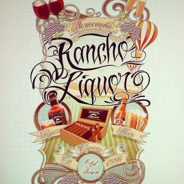 RANCHO LIQUOR TEMECULA BROWN73 by BROWN73