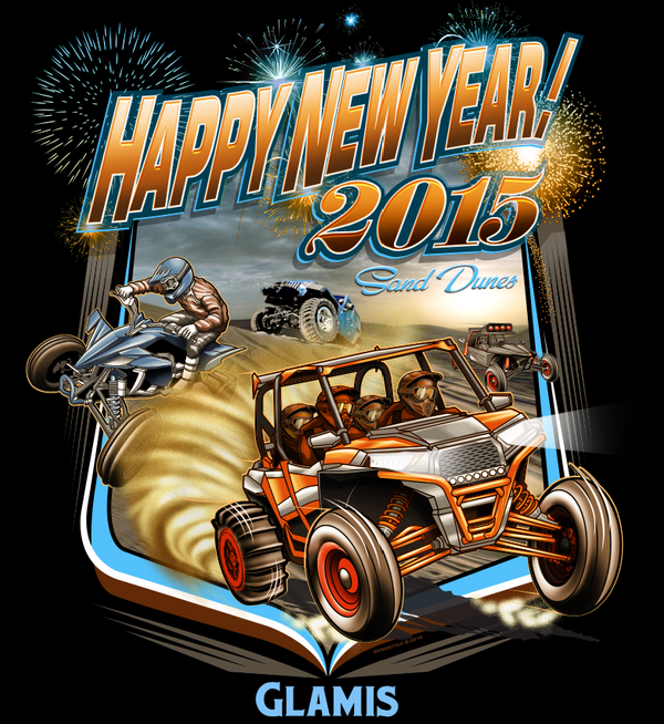 HAPPY NEW YEAR!!!!! 2015 by BROWN73