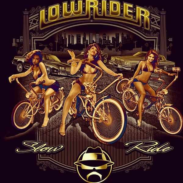 LOWRIDER GIRLS AND BIKES by BROWN73