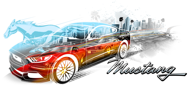 MUSTANG SPEED by BROWN73