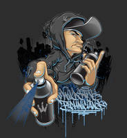 GRFFITI WILDSTYLE TECHNICIANS by BROWN73