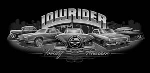 BLACK GREY LOWRIDER PIECE by BROWN73