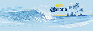 CORONA PRINT by BROWN73