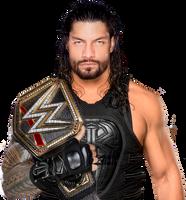 Roman Reigns WWE Champion by EcDesignsMc
