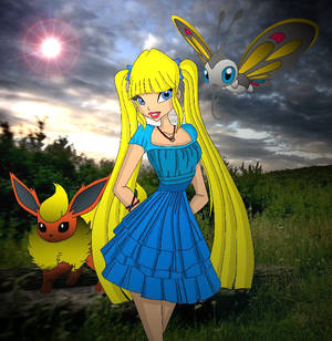 we live in a pokemon world