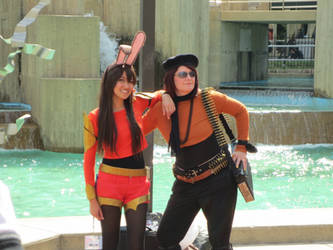 Velvet and Coco - Otakon RWBY photoshoot by xxayaneko