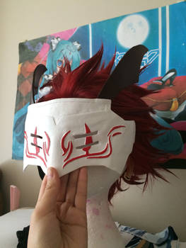 Adam Taurus Mask and Wig WIP