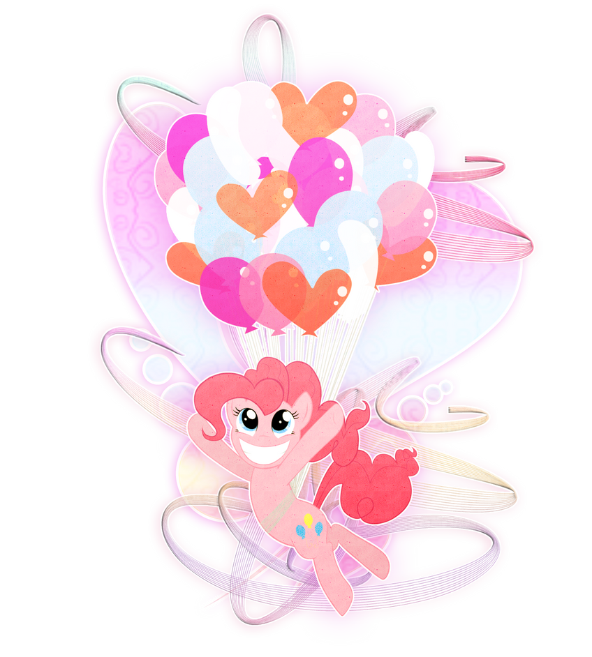 Pinkie Pie Ballons by KrewellaHanoi