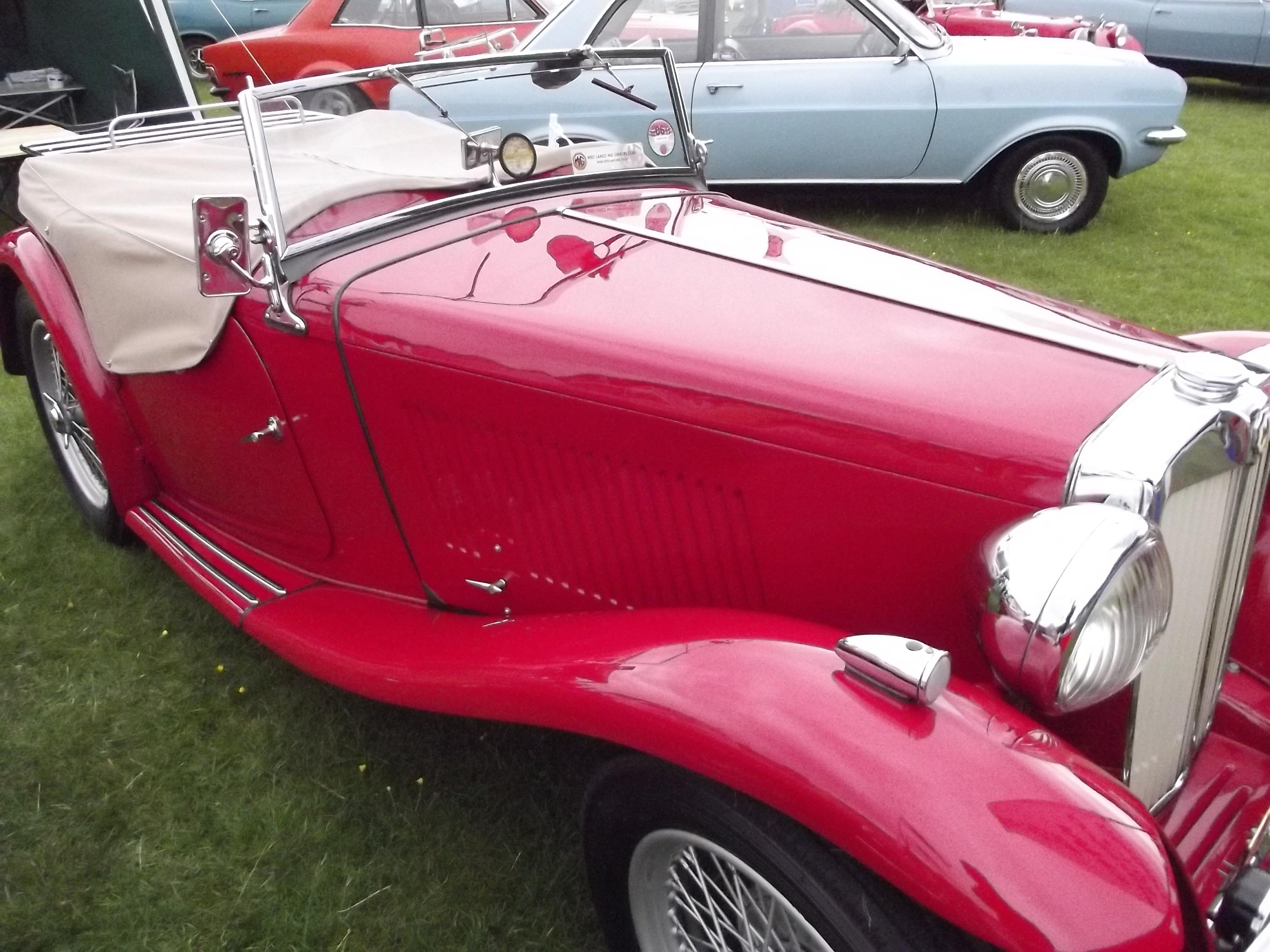 Catton Hall Classic Car Show