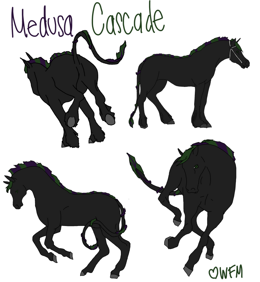 Medusa Cascade by WhiteFireMustangs