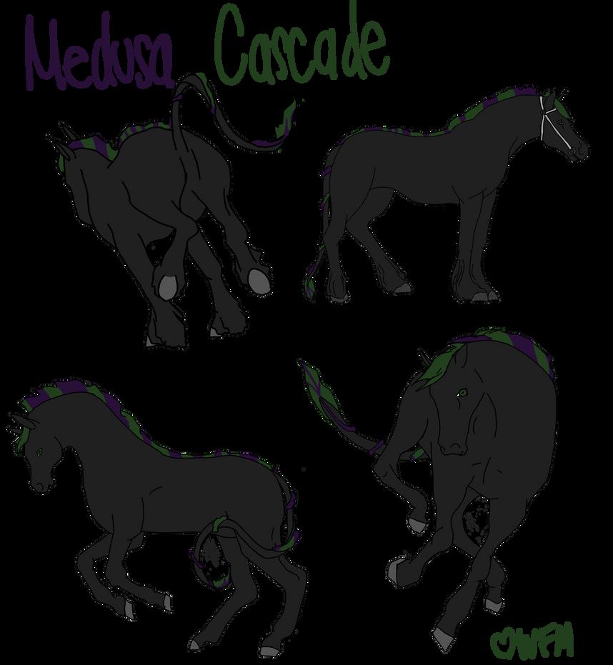 Medusa Cascade by WhiteFireMustangs