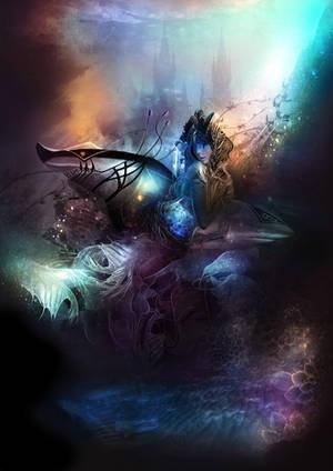 Shark World by stellartcorsica