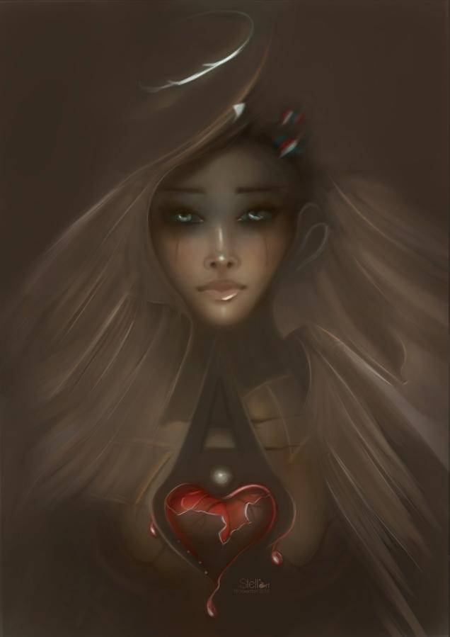 Bleeding Heart by stellartcorsica
