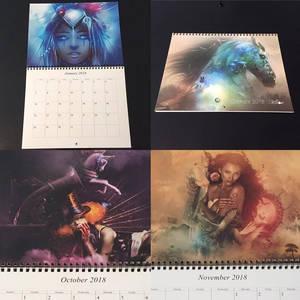 Calendar by Stellart 2018