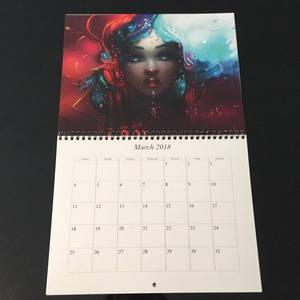Calendar by Stellart march
