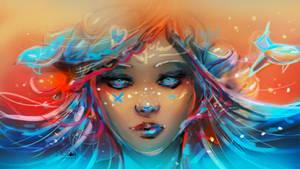 Mermaid by stellartcorsica