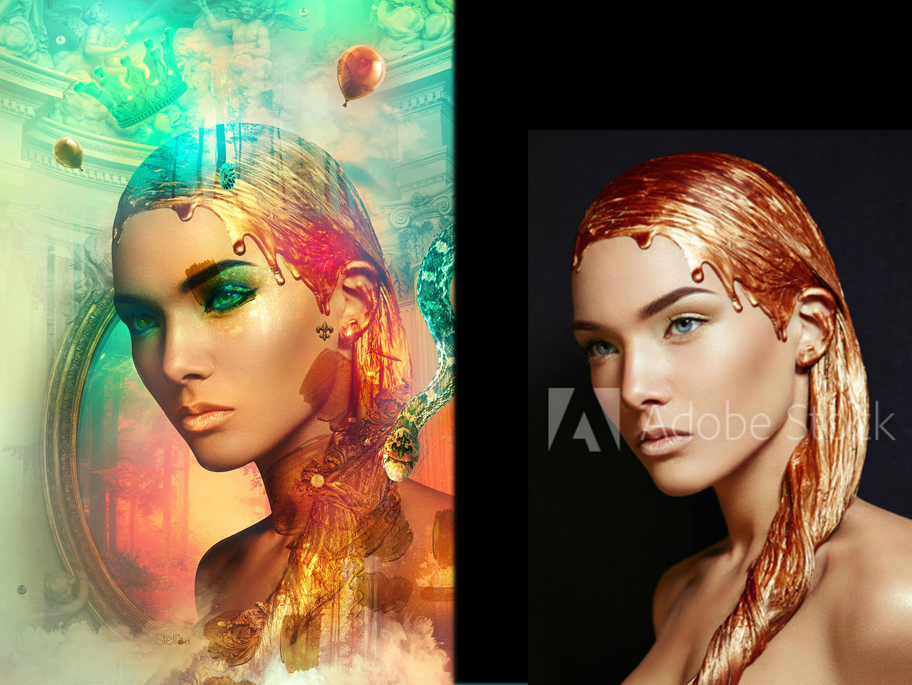 Eve before after