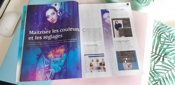Tutorial cover mars avril mai2019 Digital Creative