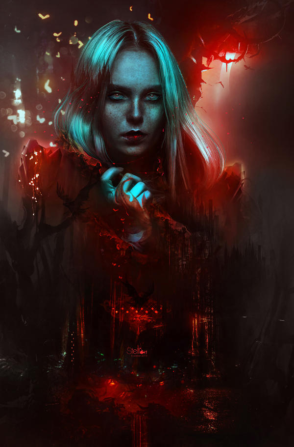 The blood kingdom queen
