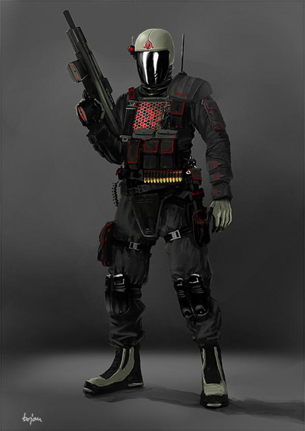 Soldier/Riot Cop Concept