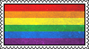 yet another gay flag stamp by Karsagi