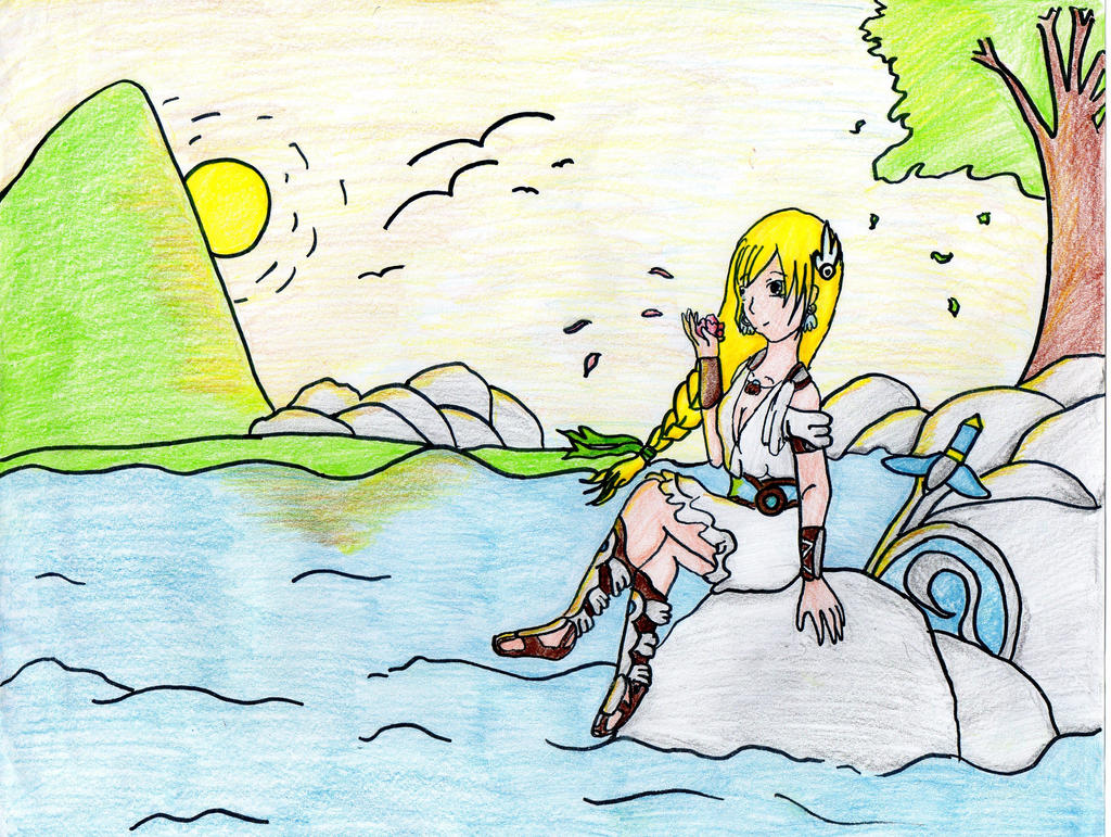 SC4 Sophitia- one moment of peace by alessandra2000