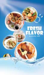 SeaFood Restaurant Flyer