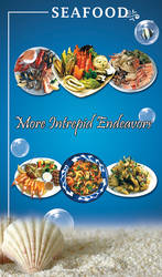 SeaFood Restaurant Flyer 02 by Teach-Me-Freedom