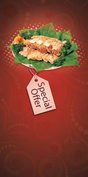 Restaurant Flyer Offer