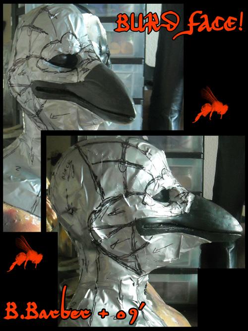 WIP Bird UYOE mask by Magpieb0nes
