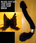 Cat tail and cuff and ears