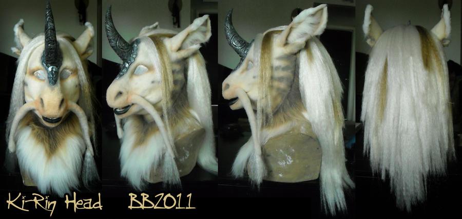 Ki-Rin Mask by Magpieb0nes