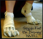 Gargoyle feet again