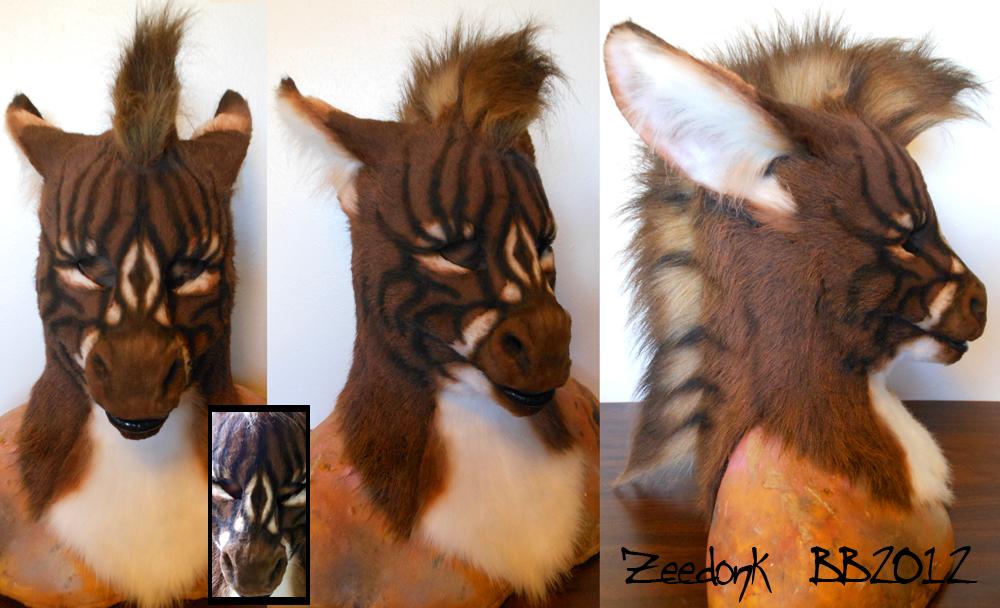 Zeedonk Head by Magpieb0nes