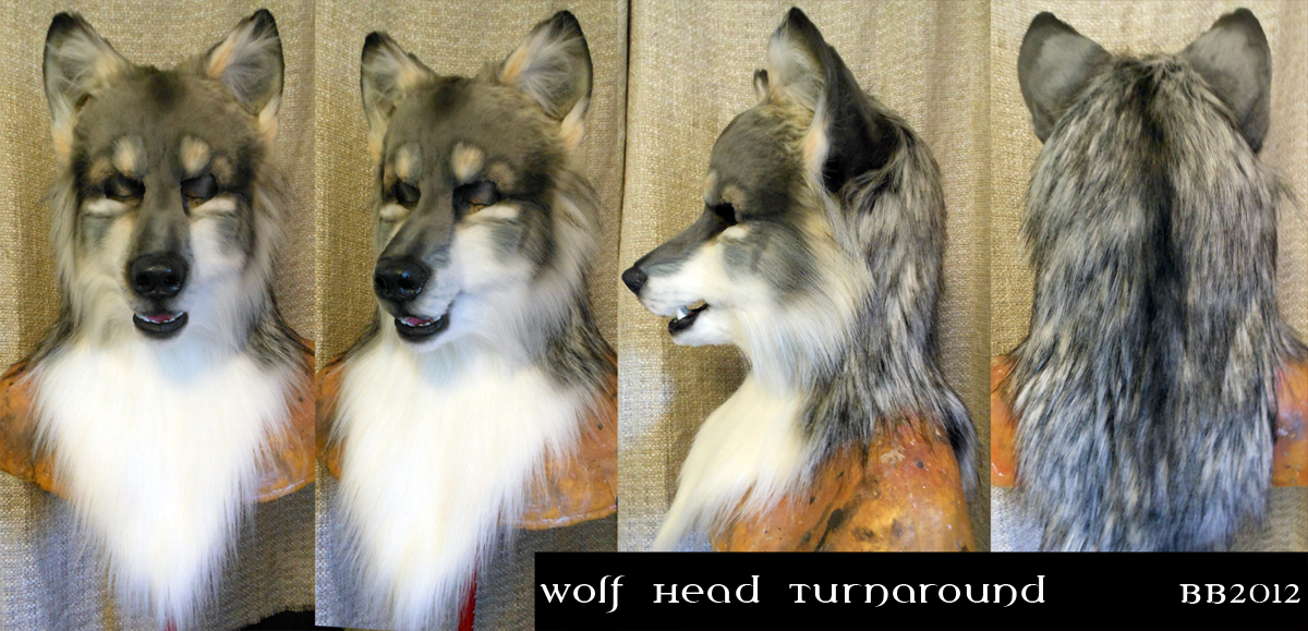 Wolf Head Turnaround by Magpieb0nes
