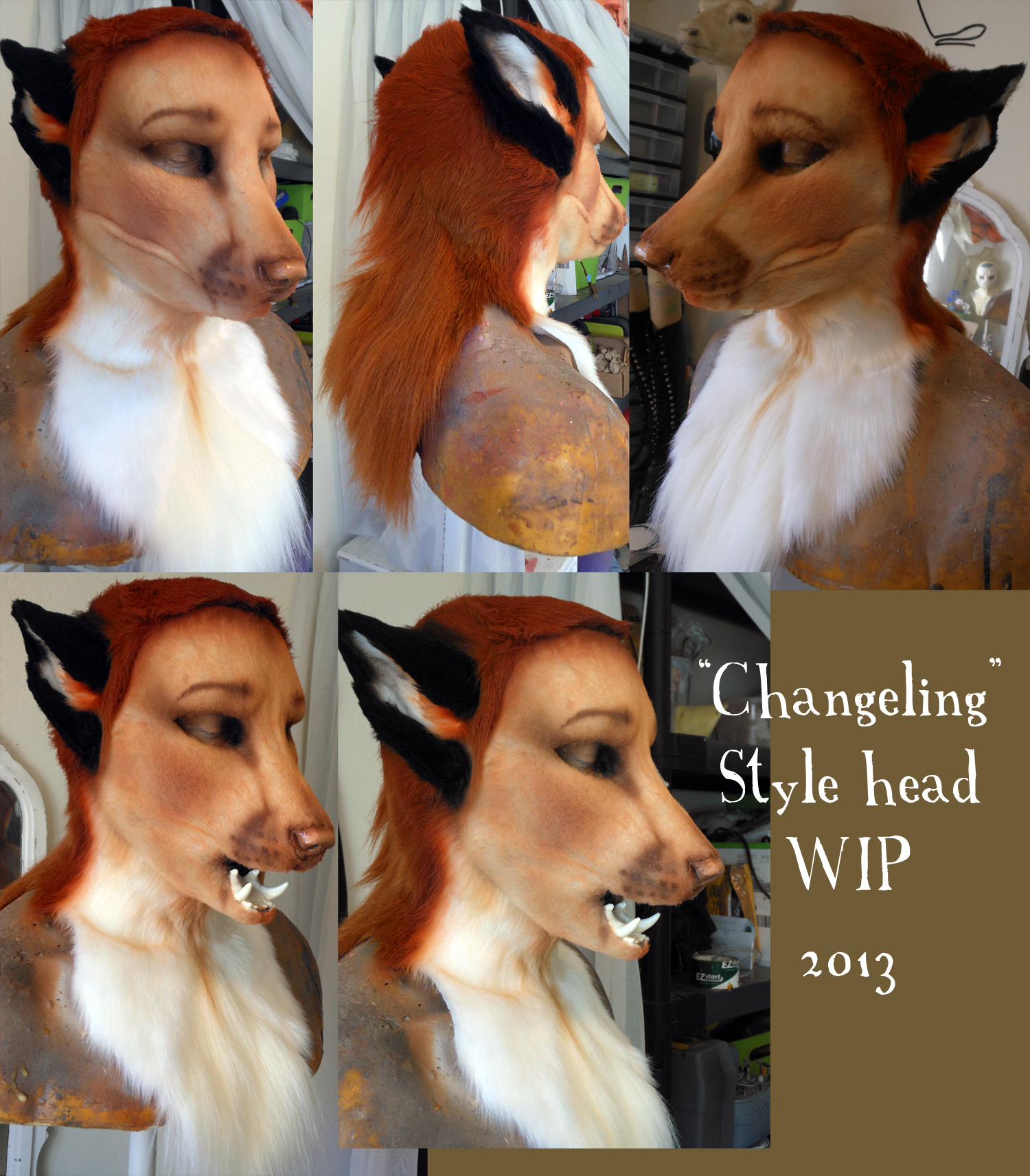 New Head Type: CHANGELING (WIP by Magpieb0nes