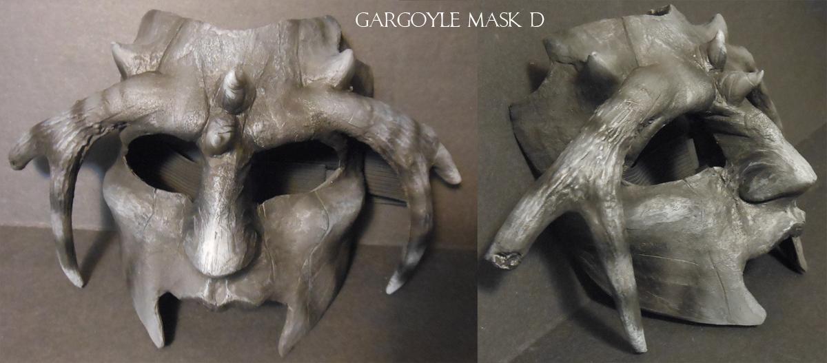 Gargoyle Mask D by Magpieb0nes