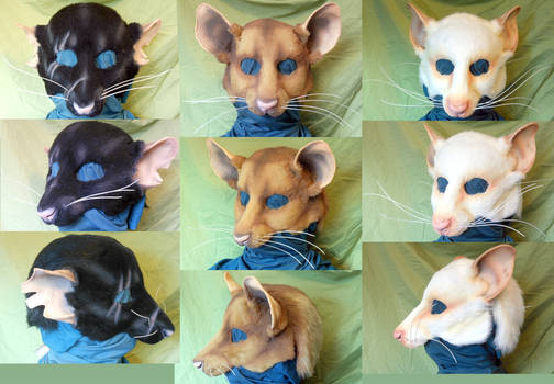 LARP RAT MASKS
