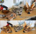 January 2015 batch of larp masks