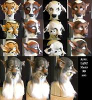 April LARP Masks by Magpieb0nes
