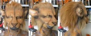 Lion LARP Mask by Magpieb0nes