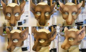 Rat LARP Masks by Magpieb0nes