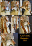 Maned Coyote/Red Wolf LARP Mask