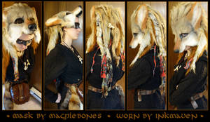 Coyote W/Dreads being worn